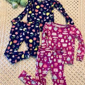 3t toddler girls pj's